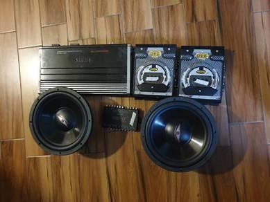 Car audio full set speaker