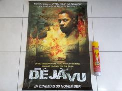 Poster Original DEJA VU Limited Edition 2005