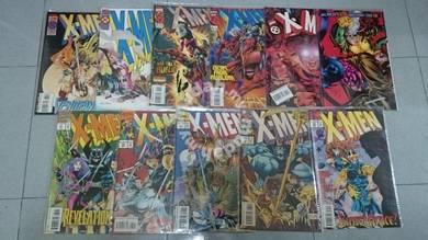 X-MEN. 1991 series issue 31-35, 38-39, 42-45
