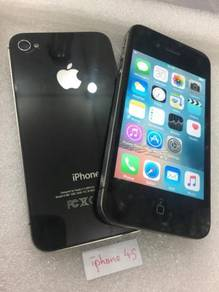 Apple iphone 4s 16gb second 2nd hand used set ori
