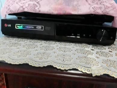 LG brand DVD player