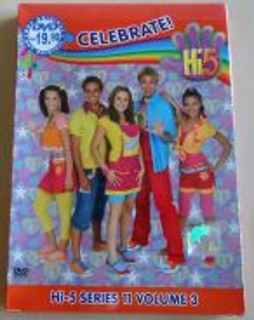 DVD Hi-5 Series 11 Volume 3 Celebrate (Australia