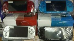 PSP3000 with games, earphone, memory card