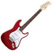 Fender Squier Bullet Strat Electric Guitar- Red