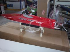 E36 artr rc racing boat 845mm red
