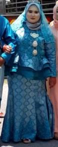 Baju pengantin perempuan/bekas hantaran