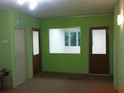 Specialist carpet Renovation partition Wall Office