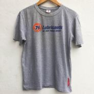 Size L 76 OIL Tshirt in Grey Pit 20