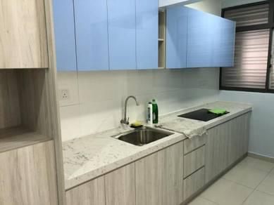 Season Garden Luxury Condo with Kitchen Cabinet Sri Rampai Wangsa Maju