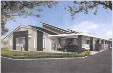 NEW Single Story Terrace House Semambu