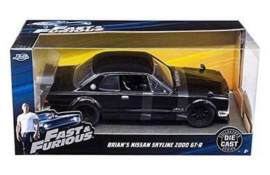 Jada 1/24 Fast and Furious Nissan Skyline 2000 GTR