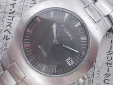 Original Fossil arkitext Gent steel watch
