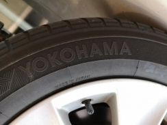 215/60R17 Yokohama Aspec made in Japan