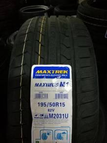Tayar Baru 195 50 15 Maxtrek New Tyre