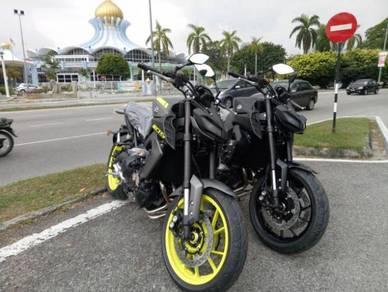 Yamaha mt-09 mt09 mt 09 NO GST