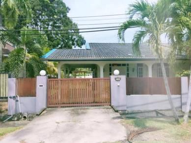 Single storey semi detached, Shangrila Garden Miri