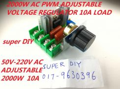 AC 50-220V PWM 2000W Adjustable Voltage Regulator