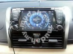 Toyota vios 2014 car dvd player 7 inch without gps