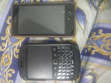 Telepon Blackberry Bold Dan Nokia Lumia