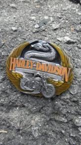Harley davidson belt buckle M-88 1991 siskiyou