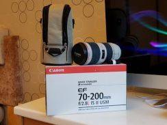 Canon 70-200mm f2.8L IS II