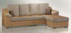 Contain l-shape sofa-8228