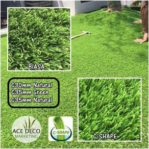Premium C-Shape Artificial Grass Rumput Tiruan 08
