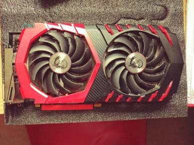 MSI Radeon RX 480 8GB - gaming X graphics card