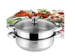 2 Layer Periuk Steamer Pot 28cm
