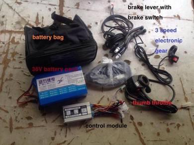 26inch hub motor ebike bicycle DIY kit