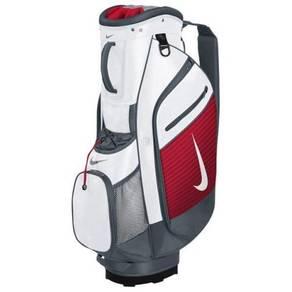 Nike Sports 3 Golf Cart Bag White/Red
