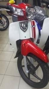 HONDA EX5 FI 110CC CORAK BARU (chun motor)