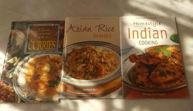 Cooking recepi books
