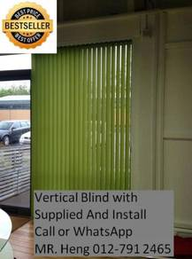 Office Vertical Blind - with install 423g42