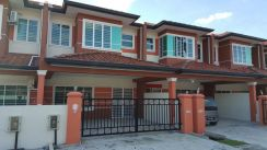 Double Storey House for rent at Samarahan