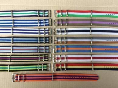 Nato Stripe Strap 20mm Nylon Watch