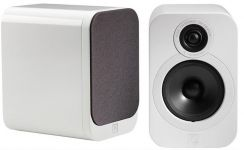 Q Acoustics 3020 Gloss White Bookshelf Speakers