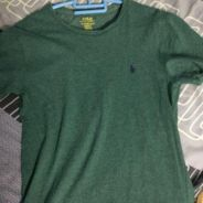 Polo ralph lauren dark green t shirt
