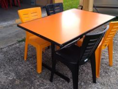 Meja restoran/kedai makan/cafe#4