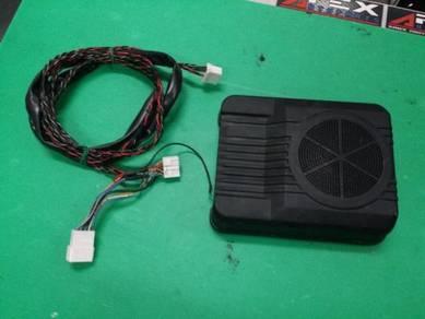Subwoofer underseat DAIHATSU complete wireing