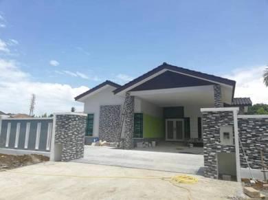 Bina banglo murah, renovation