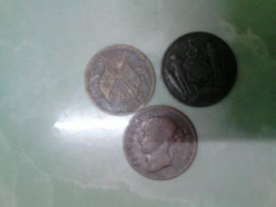 Syiling lama untuk dilepaskan