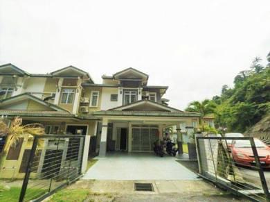 CORNER LOT   Double Storey Terrace Taman Sierra Ukay Perdana Ampang