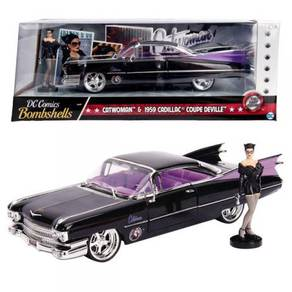 DC Bombshell Catwoman 1959 Cadillac Coupe Deville