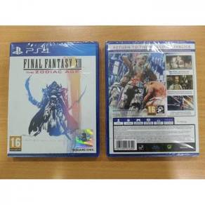 PS4 Game NEW Final Fantasy XII/12 The Zodiac Age