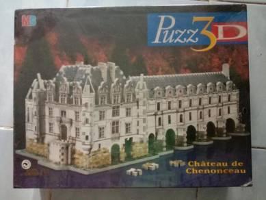 3D Puzzle Chateau de Chenonceau
