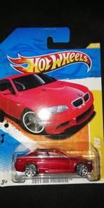 Hotwheels BMW M3 Red (E92)