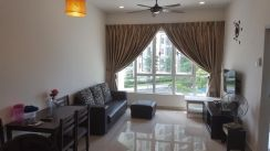 2 bedrooms TROPEZ Residences Danga Bay (Fully Furnished + Facing Pool)
