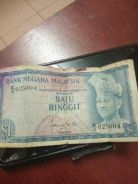 Malaysian old note