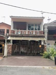 FULLY RENO FACING OPEN with Balcony Doube Storey Taman Melawati KL